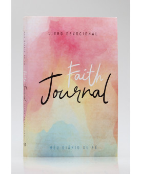 Devocional | Faith Journal | Meu Diário de Fé | Aquarela Soft