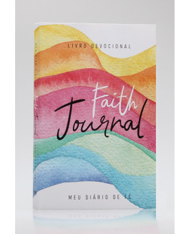 Devocional | Faith Journal | Meu Diário de Fé | Aquarela Arco-Íris