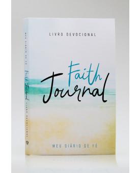 Devocional | Faith Journal | Meu Diário de Fé | Aquarela Praia