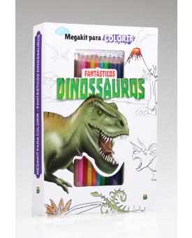 Megakit Para Colorir | Fantásticos Dinossauros | Brasileitura