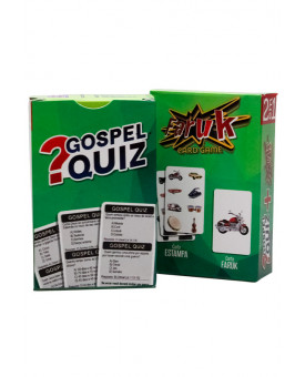 Jogo Gospel Quiz + Faruk Card Game