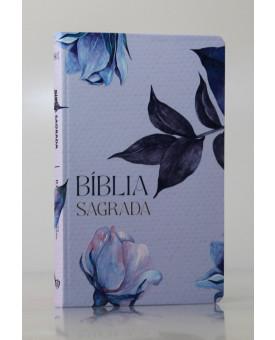 Bíblia Sagrada | RC | Letra Normal | Soft Touch | Floral | Slim