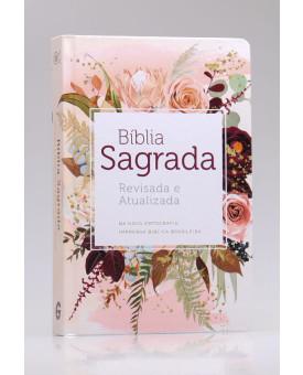 Bíblia Sagrada | RA | Letra Média | Capa Dura | Flor de Henna