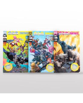 Kit 3 Livros | Batman-Fortnite | Panini