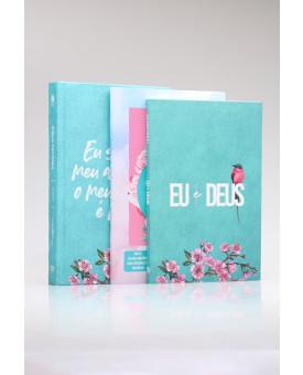 Kit Bíblia NVT Meu Amado + Livro de Oração + Guia Bíblico | Mulher Virtuosa