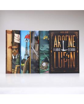 Kit 6 Livros | George Orwell + Arsène Lupin O Ladrão de Casaca