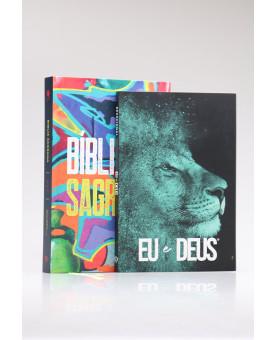 Kit Bíblia NVT Street Colors + Livro de Oração | Sabedoria