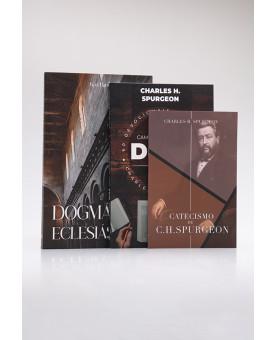 Kit Catecismo de C. H. Spurgeon + Devocional Spurgeon + Dogmática Eclesiástica | Homens de Honra