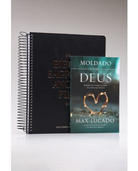 Kit Bíblia Sagrada Anote Plus + Moldado por Deus | Firmados na Palavra