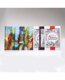 Kit 9 Livros | Anne de Green Gables + Alice no País das Maravilhas | Histórias Fascinantes