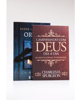 Kit Poder da Oração + Devocional Spurgeon Clássica | Sabedoria para Orar