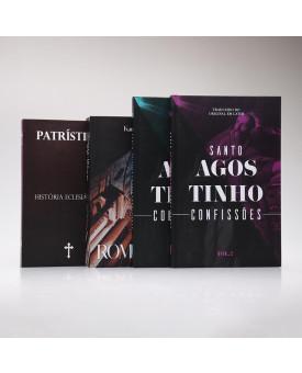 Kit 2 Livros + Confissões Vol.1 e Vol.2 | Clássicos Teológicos