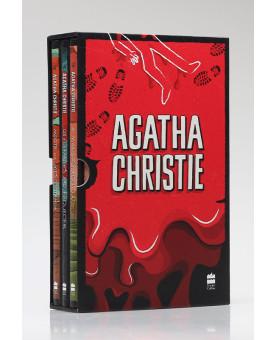 Box 3 Livros   Vol. 2   Agatha Christie   Vermelho