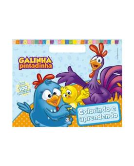Galinha Pintadinha | Colorindo e Aprendendo | 100 Adesivos | Ciranda Cultural