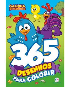 Galinha Pintadinha   365 Desenhos Para Colorir   Ciranda Cultural