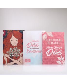 Kit Bíblia da Garota Cristã + Devocional Semanal + Guia Bíblico | Garota de Fé