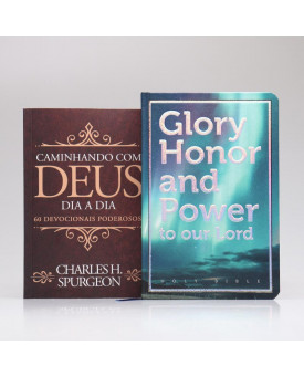 Kit Bíblia Sagrada NVI Com Panorama Bíblico e Mapas + Devocional Spurgeon | Clássica