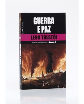 Guerra e Paz | Vol. 3 | Edição de Bolso | Leon Tolstói