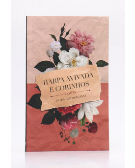 Harpa Avivada e Corinhos   Brochura   Letra Hipergigante   Papel