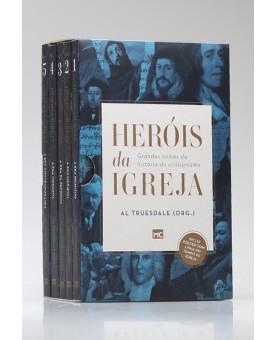 Box 5 Livros | Heróis da Igreja | Al Truesdale