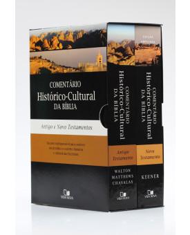 Box 2 livros | Comentário Histórico - Cultural da Bíblia | Vida Nova