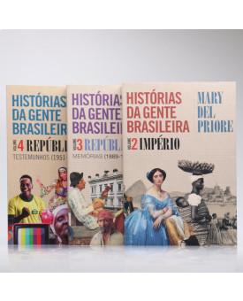 Kit 3 Livros | História da Gente Brasileira | Mary Del Priore