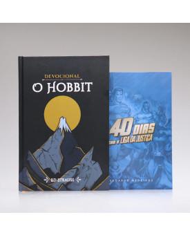 Kit 2 Livros | 40 Dias com Liga da Justiça + Devocional O Hobbit