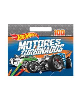 Hot Wheels | Motores Turbinados | 100 Adesivos | Ciranda Cultural