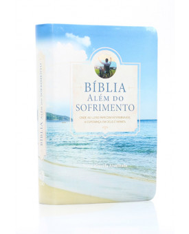 Bíblia Além do Sofrimento | NAA | Letra Grande | Capa Sintética | Ilustrada