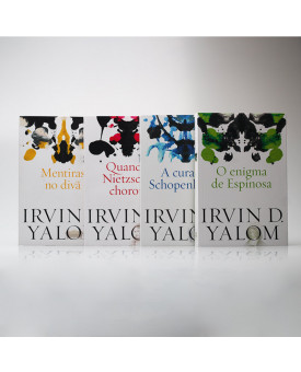 Kit 4 Livros | Referências da Psicoterapia | Irvin D. Yalom