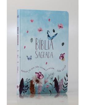 Bíblia Sagrada | RC | Letra Normal | Soft Touch | Jardim Secreto | Slim