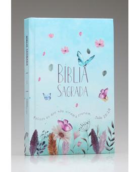 Bíblia Sagrada | ACF | Letra Média | Capa Dura | Jardim Secreto | 960 Páginas