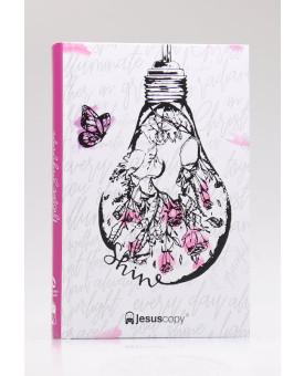 Bíblia Sagrada | NAA | Letra Normal | Capa Dura | Jesus Copy | Shine