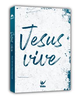 Bíblia Sagrada | NVI | Jesus Vive | Letra Normal  | Brochura | Branca | Popular