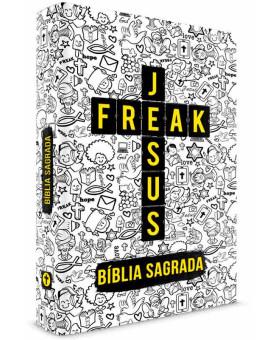 Bíblia Sagrada | NVI | Letra Média | Capa Comum | Jesus Freak | Capa Cartoon