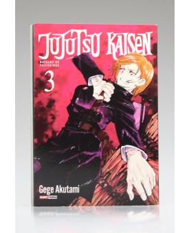 Jujutsu Kaisen: Batalha de Feiticeiros | Vol.3 | Gege Akutami