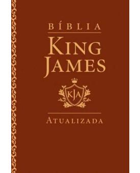 Bíblia | King James Atualizada | Letra Grande | Luxo | Marrom