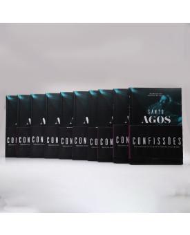 Kit 20 Livros | Confissões | Capa Dura | Santo Agostinho