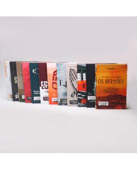 Kit 12 Livros | Capa Dura | Para Vestibular / Literatura Brasileira
