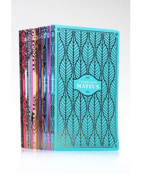 Kit de Mateus a Apocalipse | Seu Novo Testamento Comentado | NVI | Edição Premium
