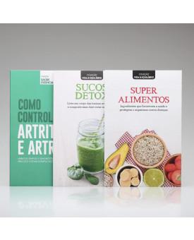 Kit 3 Livros | Saúde Essencial + Vida & Equilíbrio | Vol. 4 | Alto Astral