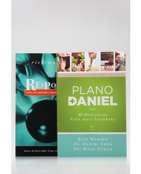 Kit 2 Livros | Plano Daniel + Respostas Para os Grandes Problemas da Vida