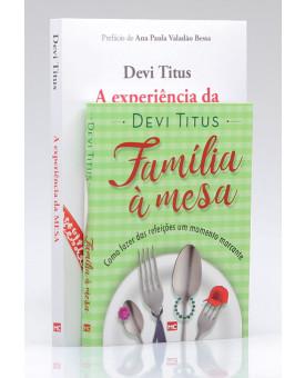 Kit 2 Livros | A Experiência da Mesa + Família à Mesa