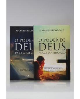 Kit 2 Livros | O Poder de Deus Para a Salvação | Augustus Nicodemus