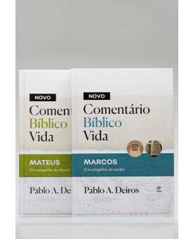 Kit 2 Livros | Novo Comentário Bíblico Vida | Pablo A. Deiros