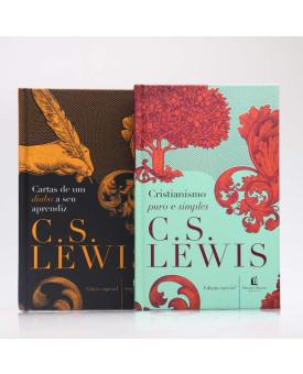 Kit 2 Livros | Cristianismo Puro e Simples + Cartas de um Diabo a Seu Aprendiz | C. S. Lewis
