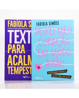 Kit 2 Livros | Fabíola Simões