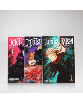Kit 3 Livros | Jujutsu Kaisen: Batalha de Feiticeiros | Gege Akutami
