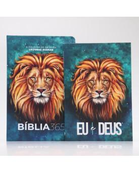 Kit Bíblia NVT 365 + Devocional   Leão Aslam