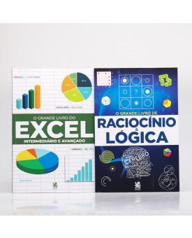 Kit O Grande Livro do Excel + O Grande Livro do Raciocínio & Lógica